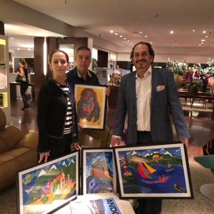 Exposição Viajando com Philippe Seigle