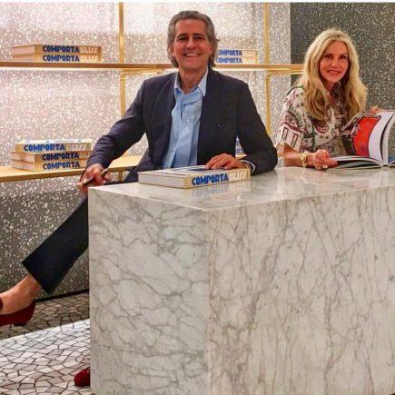 Cacá de Souza e Charlene Shorto lançam livro no Village Mall