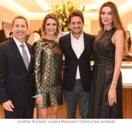 Tiffany&Co inaugura sua sexta loja no Brasil