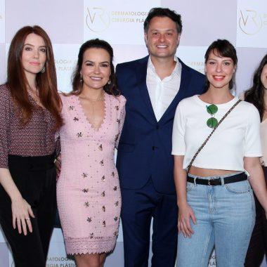 Celebridades prestigiam a Inauguração do novo espaço físico da Clínica VR na Barra da Tijuca