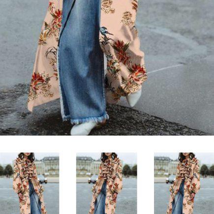Vestido e calça jeans fazem combinação da vez!