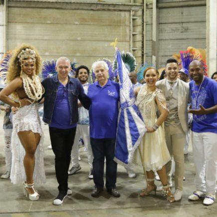 Jean Paul Gaultier faz colab para Portela no Carnaval 2019