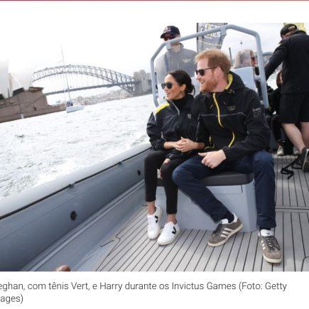 Tênis da marca Vert com pegada sustentável cai no gosto da Duquesa de Sussex