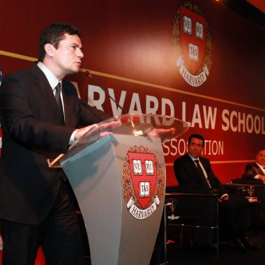 SÉRGIO MORO participa do Bicentenário da Harvard Law School