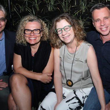 Cleo Pires,Gloria Maria Maitê Proença prestigiaram o show Elza Soares no hotel Emiliano Rio