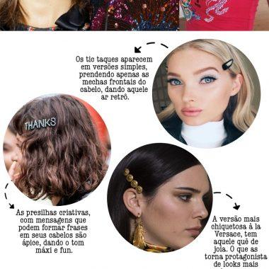 Presilhas: os acessórios de cabelo mais cool da temporada Por Layla da Fonseca