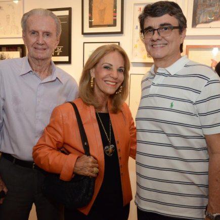 """Inauguração da exposição """"Doação D!"""", na Galeria Zagut, no Cassino Atlântico."""
