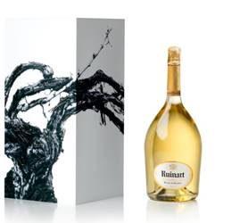 Obra de Vik Muniz para Ruinart Champagne