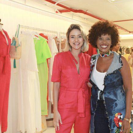 Erica Santos apresenta sua coleção no Edu Santos Brands Curator Office