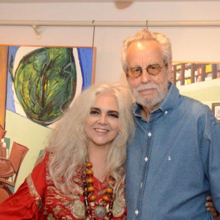 Abertura da exposição Helenice Dornelles e Ronaldo Miranda, na Galeria Evandro Carneiro Arte, no Gávea Trade Center.