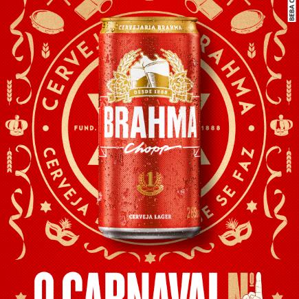 Brahma retorna ao carnaval do Rio de Janeiro e será a cerveja oficial do Carnaval N1