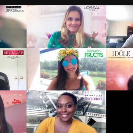 Snap Camera se associa a L'Oréal