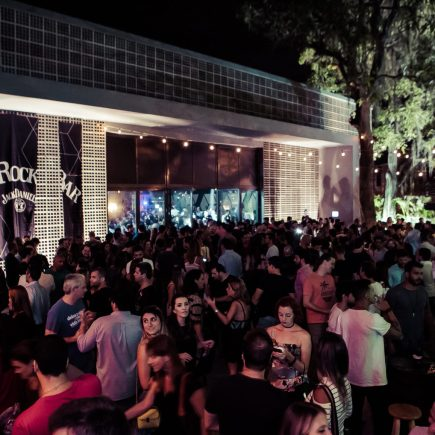 Jack Daniel's Rock Bar estreia com mais de cinco mil pessoas no ExC, no Jardim Botânico