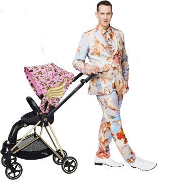 LZ Mini lança carrinhos de bebê assinados porJeremyScott