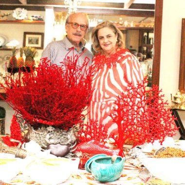Almoço Cristina e Claudio Aboin para os Embaixadores do Rio