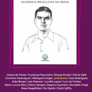 A Academia Brasileira da Moda convida para palestra com João Braga