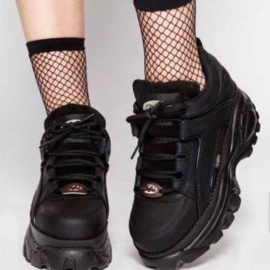 O tenis com plataforma dos anos 90 voltou agora a nova versão é Ugly Sneakers