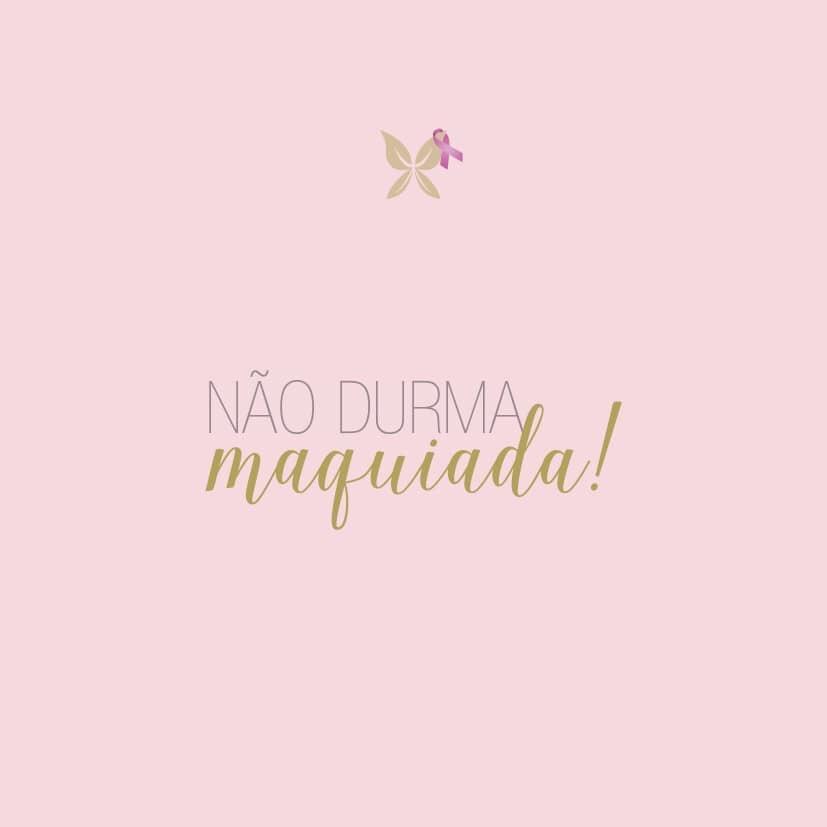 Não Durma Maquiada !!! Por Jessica Zarro