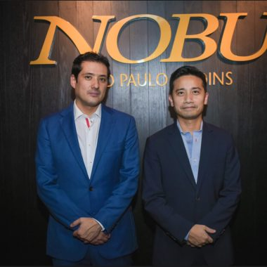 Abertura do primeiro Nobu da América do Sul