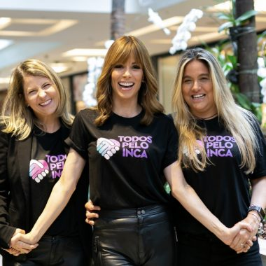Ana Furtado organiza o Bazar Todos Pelo INCA, com peças doadas por famosos, no Fashion Mall, no Rio