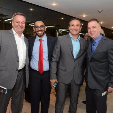 Novos Embaixadores do Rio, na CNC.