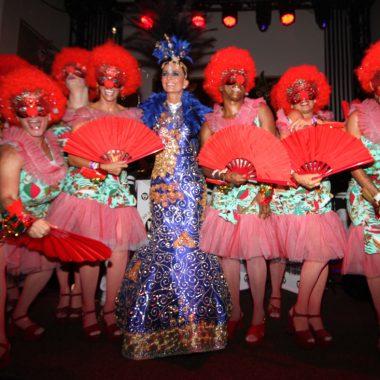 Dolce Carnevale ontem estremeceu  os salões do Copacabana Palace