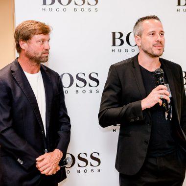 VIPs celebram à vinda do premiado velejador britânico Alex Thomson ao Brasil