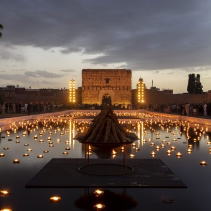Dior Cruise 2020 em Marrakech