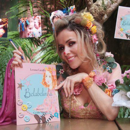"""Leona Cavalli, Teresa de Órfãos da Terra, lançou livro infantil """"Belabelinha"""" Neste Domingo- No TEMPLO Na Gavéa"""