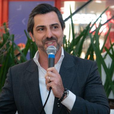 Shopping Leblon promove coquetel para marcas conhecerem o novo superintendente Rodrigo Lovatti,