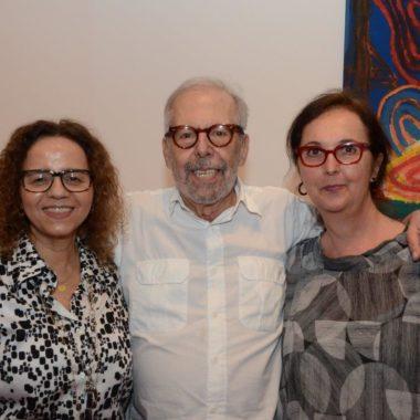 """Abertura da exposição """"Luiz Áquila:  III Milênio – Criação em Aberto"""", no Museu Nacional de Belas Artes."""