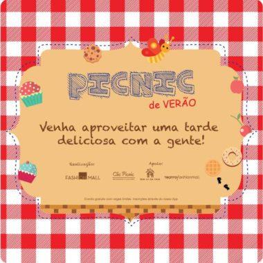 Fashion Mall recebe Picnic de Verão no dia 26 de janeiro
