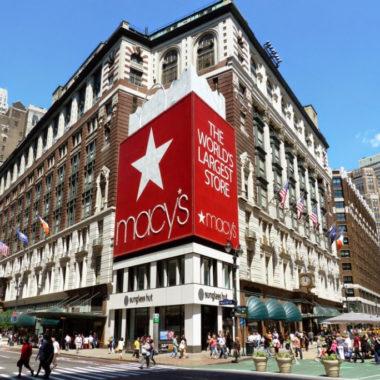 Com lojas fechadas, Macy's contabiliza perdas de 1 bilhão de dólares