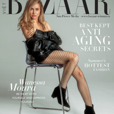 "Depois de Anitta: Harper's Bazaar Vietnã lança capa com segunda modelo brasileira e destaca moda pós pandemia ""Nada será como antes"""