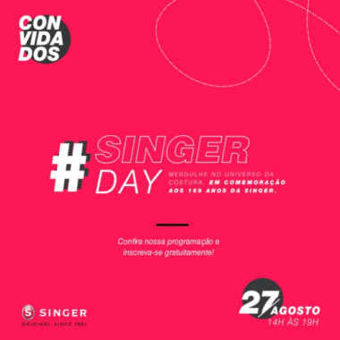 Singer promove evento online para consumidores em comemoração aos 169 anos da marca