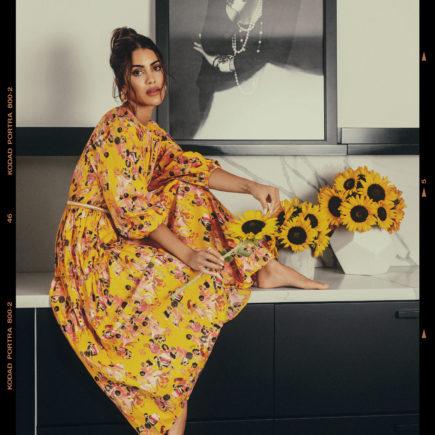 Camila Coelho fotografa campanha de Colcci em sua casa em LA