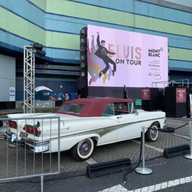 Montblanc promove noite de rock para celebrar Elvis Presley