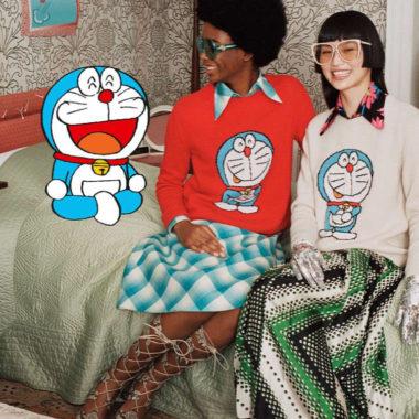 Gucci cria coleção cápsula com famoso personagem japonês Doraemon