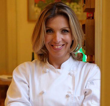 Tekuna Gachechiladze, da Geórgia, cozinha com chefs do Fairmont Rio no Marine Restô nesta quinta-feira