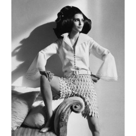 Iconic model Benedetta Barzini na Filme Filme