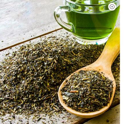 Chá verde: benefícios para a pele