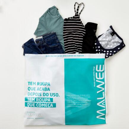 Malwee e brechó on-line Repassa ampliam parceria com ação que disponibiliza na hora os créditos da venda dos seus produtos