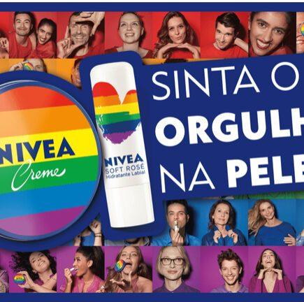 NIVEA lança edição especial ORGULHO em prol da luta LGBTQIA+