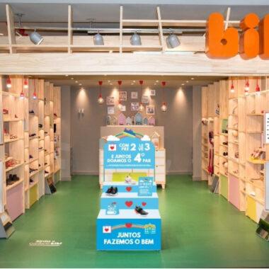 Bibi promove ação social e tem meta doar 4 mil pares de calçados para instituições de ensino