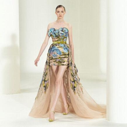 Elie Saab: rebentos de esperança enviados de Beirute- Haute Couture Parisiense