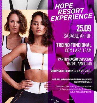 HOPE Resort realiza HOPE Resort Experience, primeiro grande evento da marca