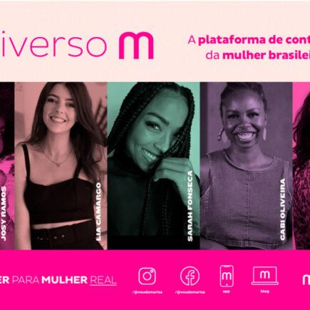 """""""Universo M"""", plataforma digital com conteúdos voltados ao universo feminino"""